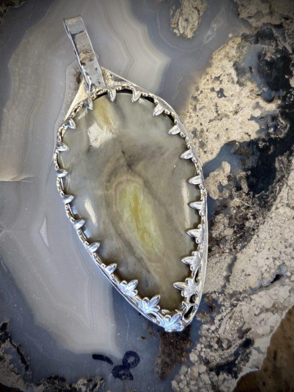 Yellow Serpentine Necklace